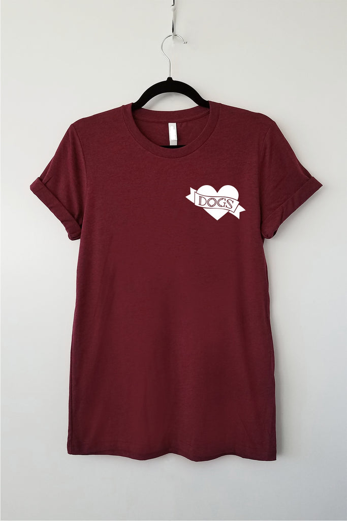 Dog Lover Tattoo Tee