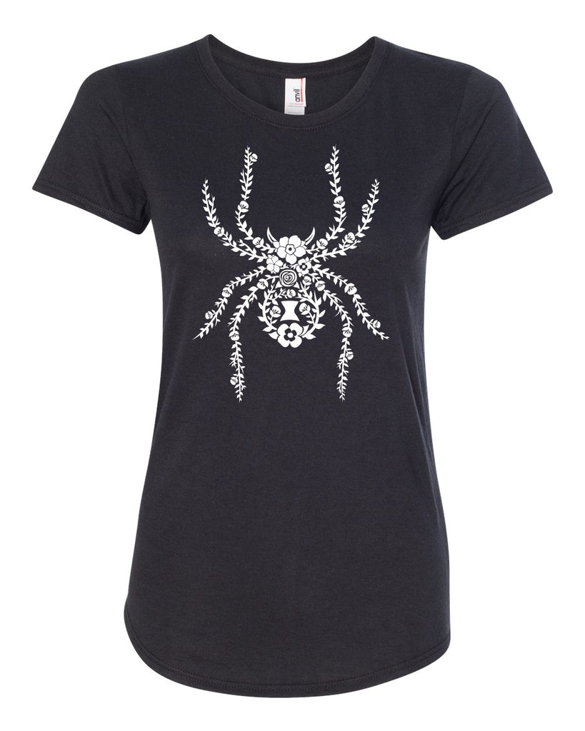 Floral Spider Ladies Tee