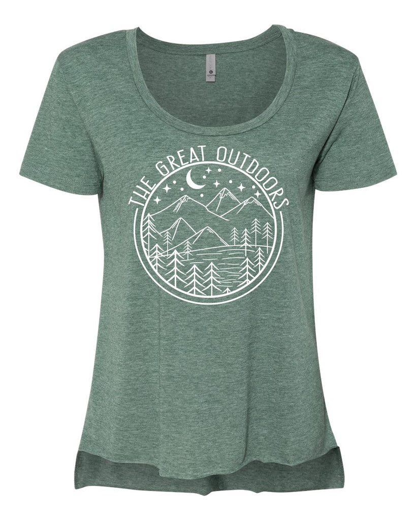 The Great Outdoors Scoop Tee