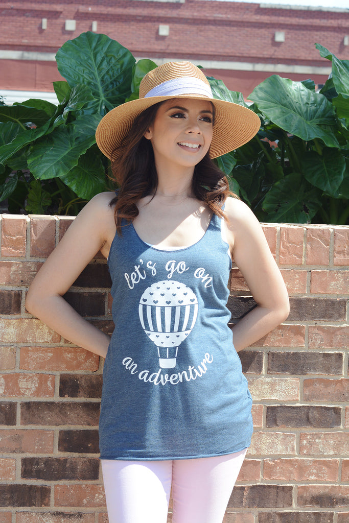 Let's Go on An Adventure Sample Tank Top