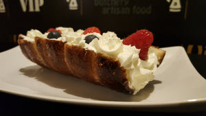 Whipped Cream with Fruits SIGNATURE Chimney Cake