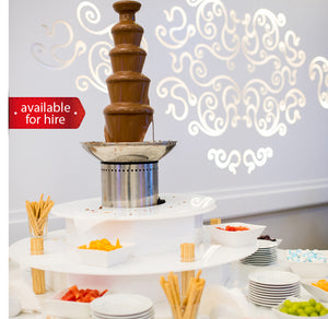5 tier Chocolate Fountain for hire