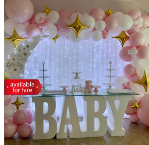 Baby table for hire