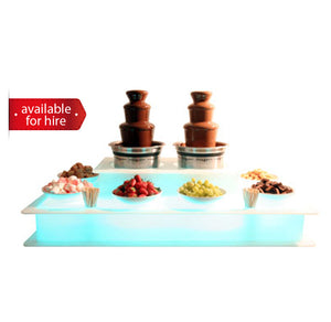 Two 3 tier Chocolate Fountain for hire