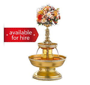 Gold Beverage Fountain for hire