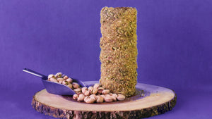 Chimney Cake with Pistachios