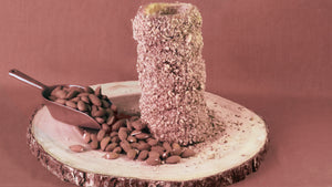 Chimney Cake with Almonds