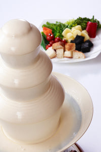 3 Tier Cheese Fountain for hire