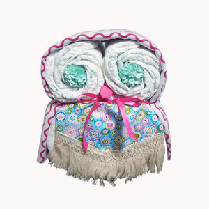 Nappy Cake Owl | Amelia | Limited Edition - Nappie Cakes