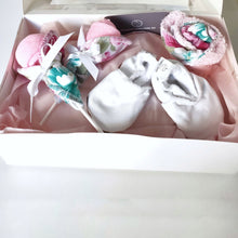 Mum and bub gift box | Floral Print - Nappie Cakes