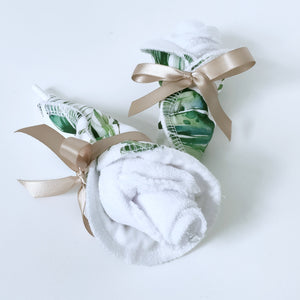Mum and bub gift box | Green Leave - Nappie Cakes