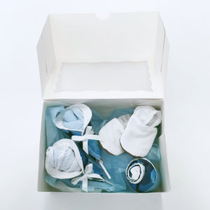 Mum and bub gift box | Blue Circle - Nappie Cakes