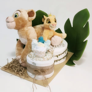 Lion King Nappy Cake - LIMITED EDITION - Nappie Cakes