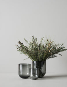 VASE - Simple glassvase Smoke Stor