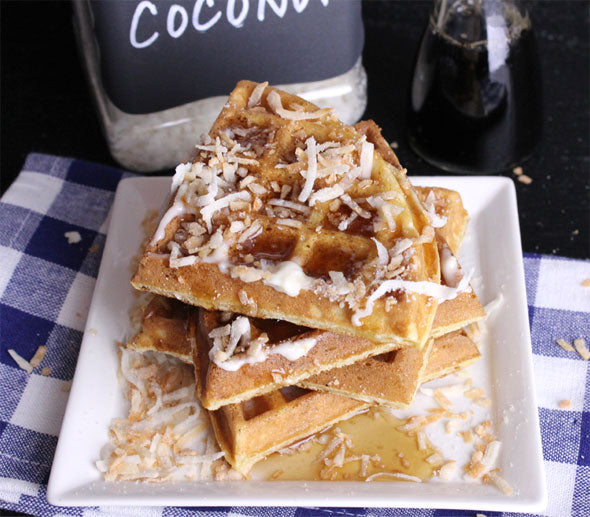 Breakfast Coconut Waffles