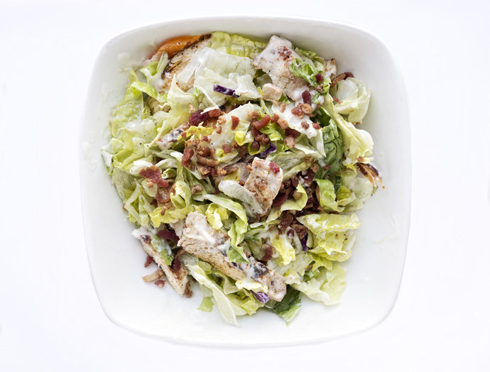 Keto BLT Salad with Chicken