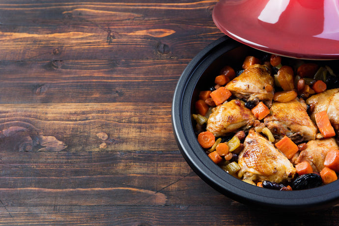 One Pot Chicken Thighs with Veggies