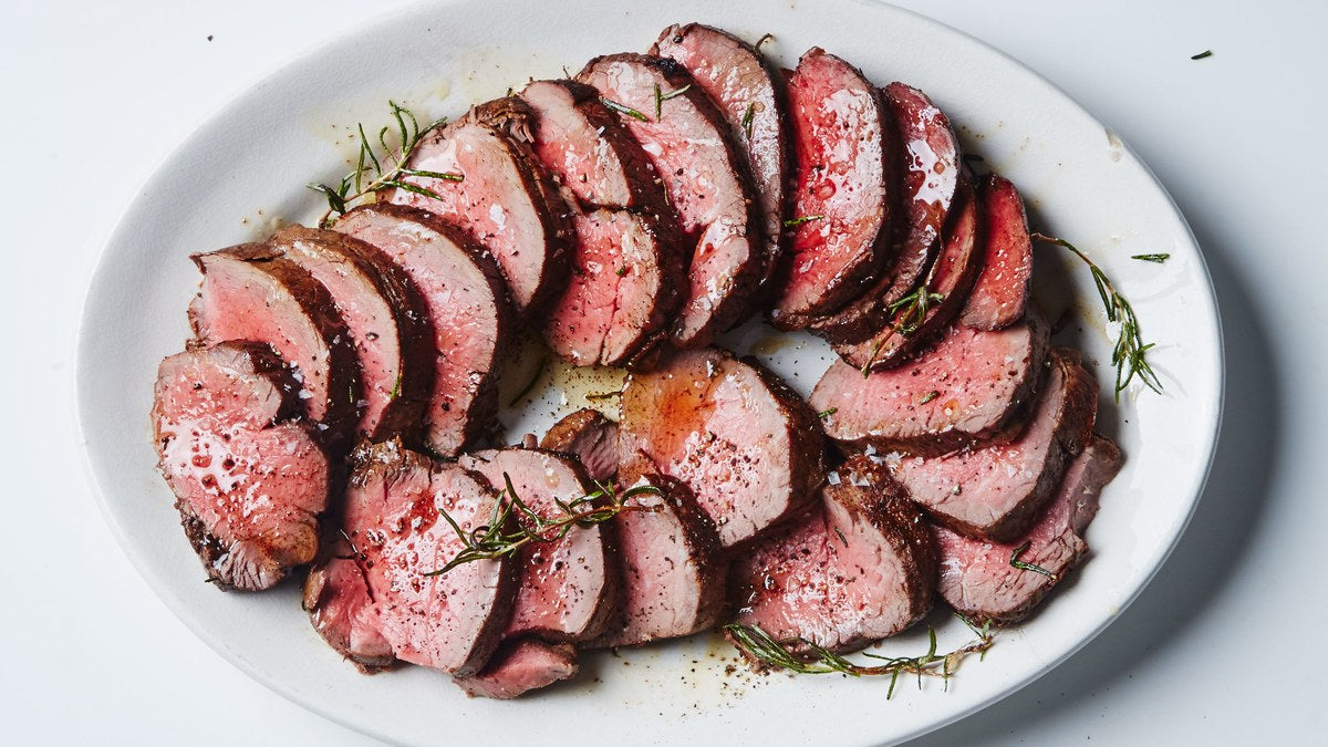 Roasted Rosemary Beef Tenderloin