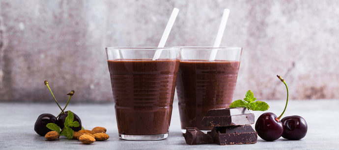 Cacao Cherry Collagen Smoothie