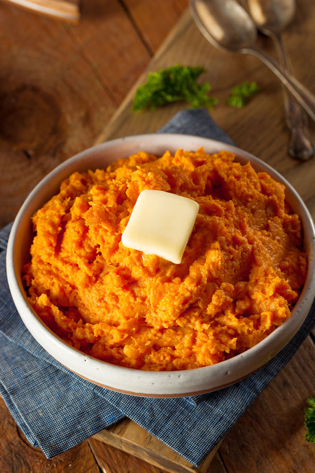 Caveman Sweet Potato Mash
