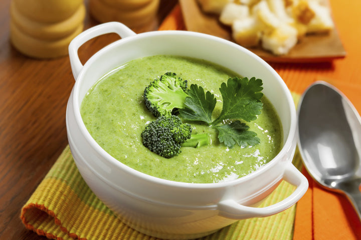 Creamy Kale and Broccoli Soup