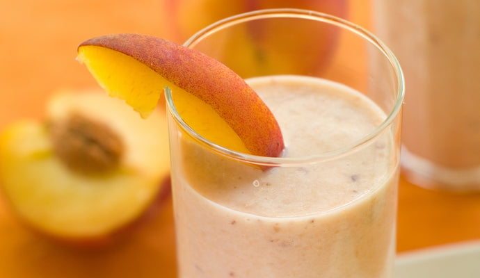 Peachy Sunrise Collagen Smoothie