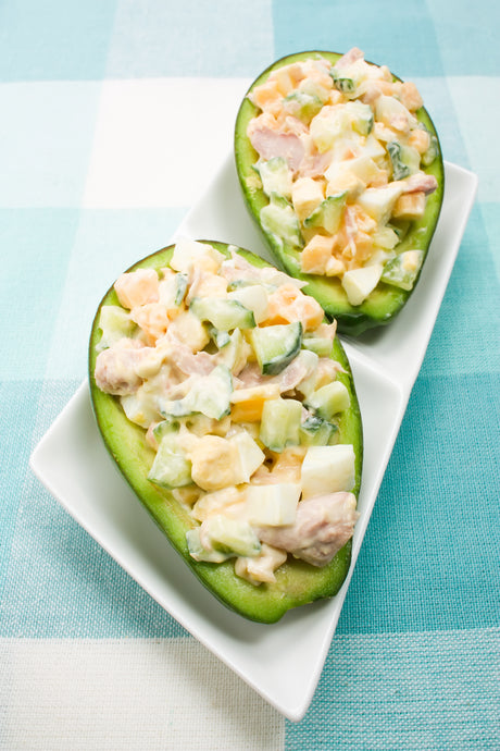 Egg Salad Boats