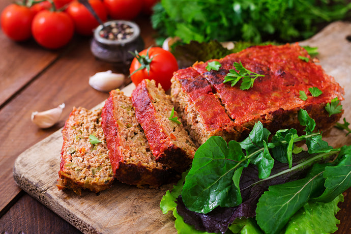 Bison Meatloaf with Herbs