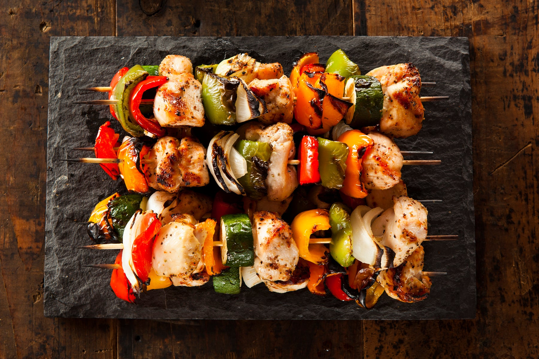 Keto Cumin Broiled Chicken Kabobs