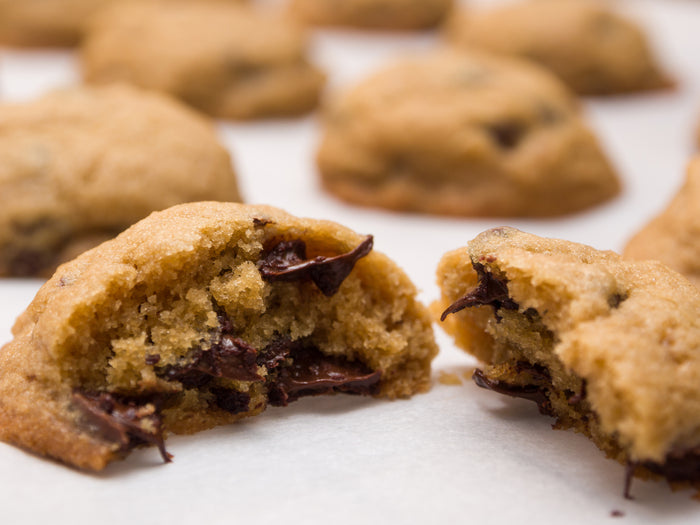Decadent Keto Chocolate Chip Cookies