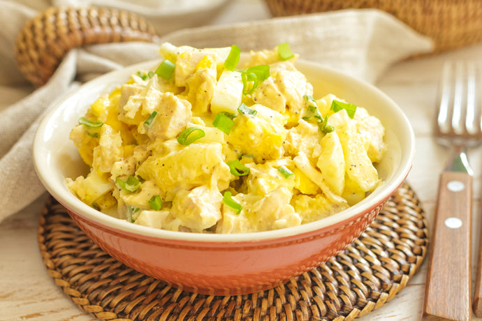 Egg Salad with Onions and Celery