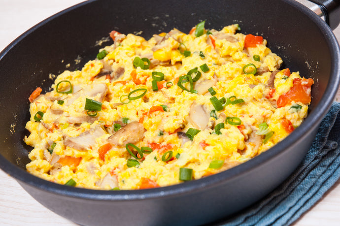 Eggs and Veggie Scramble