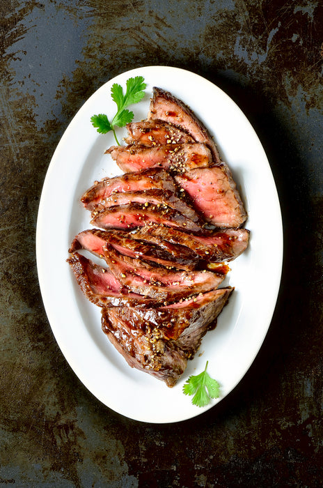 Keto Grilled Flank Steak with Spicy Marinade