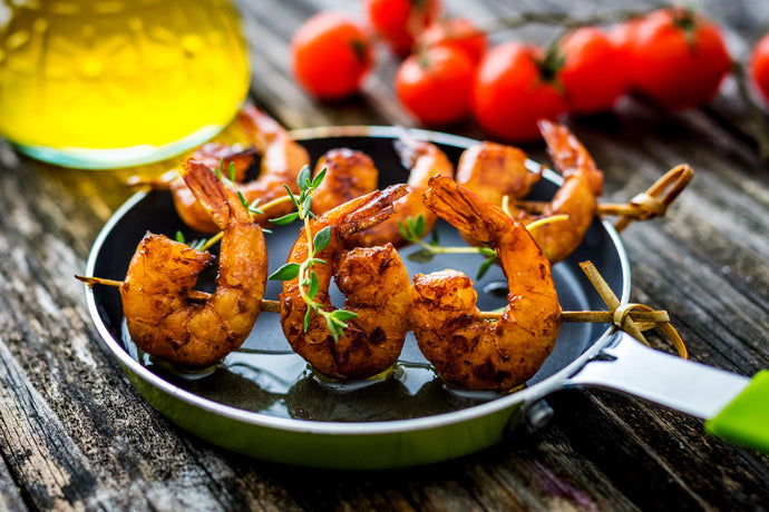 Keto Spicy Grilled Cumin Shrimp