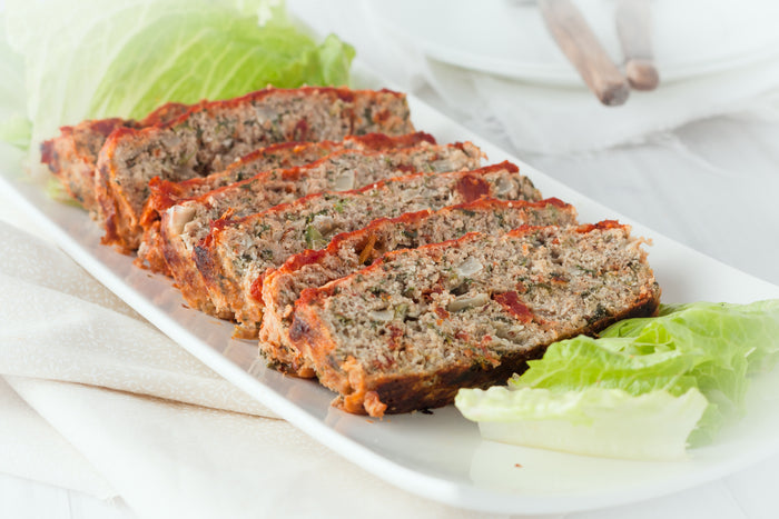 Keto Ground Turkey Meatloaf