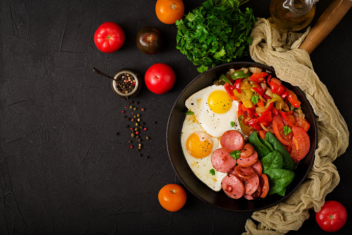 Sausage, Egg and Vegetable Skillet
