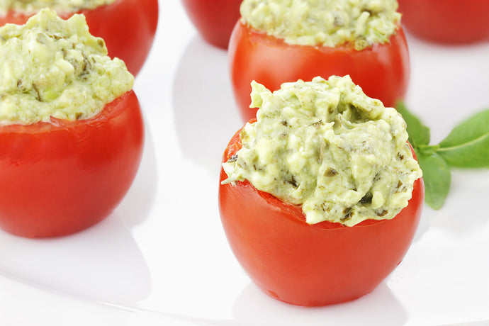 Stuffed Tomatoes with Avocado