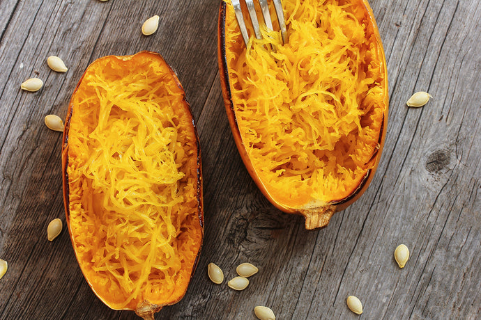 Turkey Spaghetti Squash Bowl