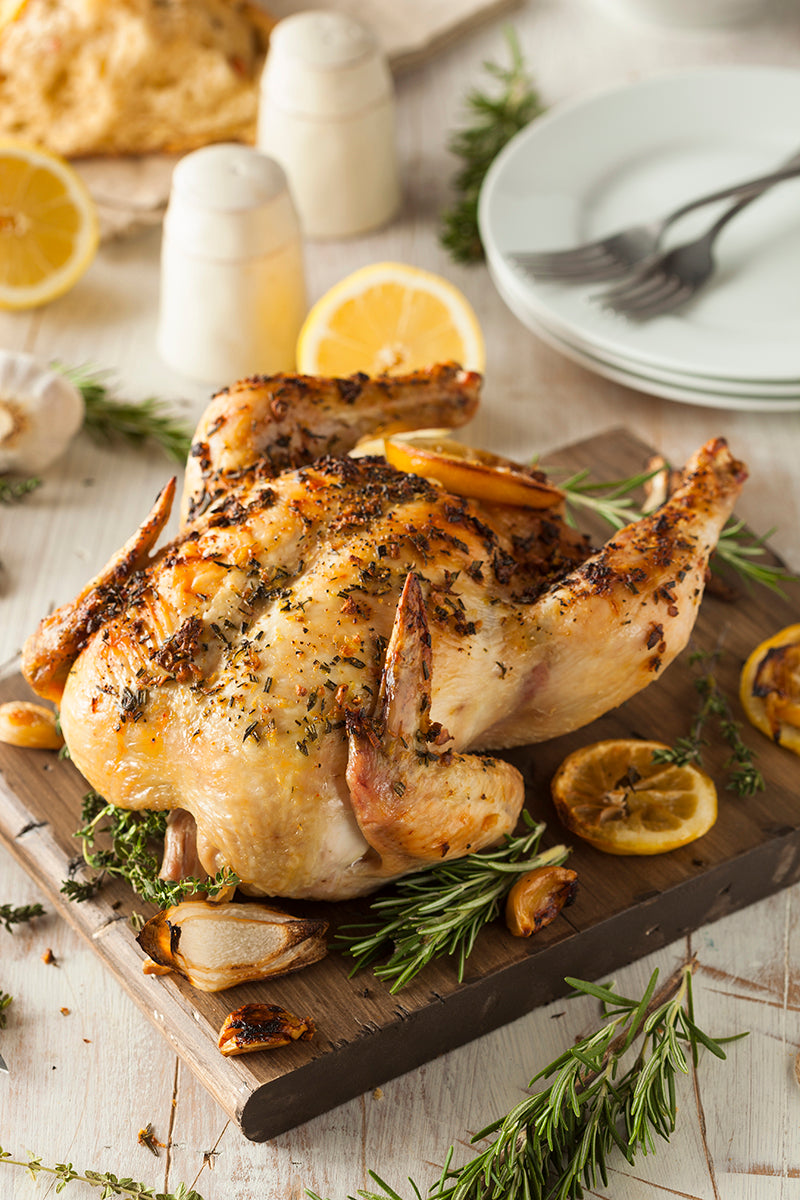 Roasted Herb Butter Chicken