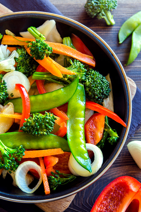 Kitchen Sink Veggie Stir Fry