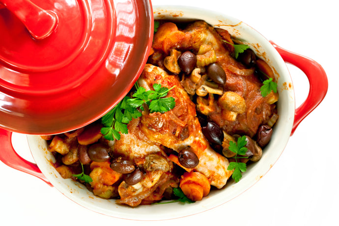 One Pot Chicken Cacciatore