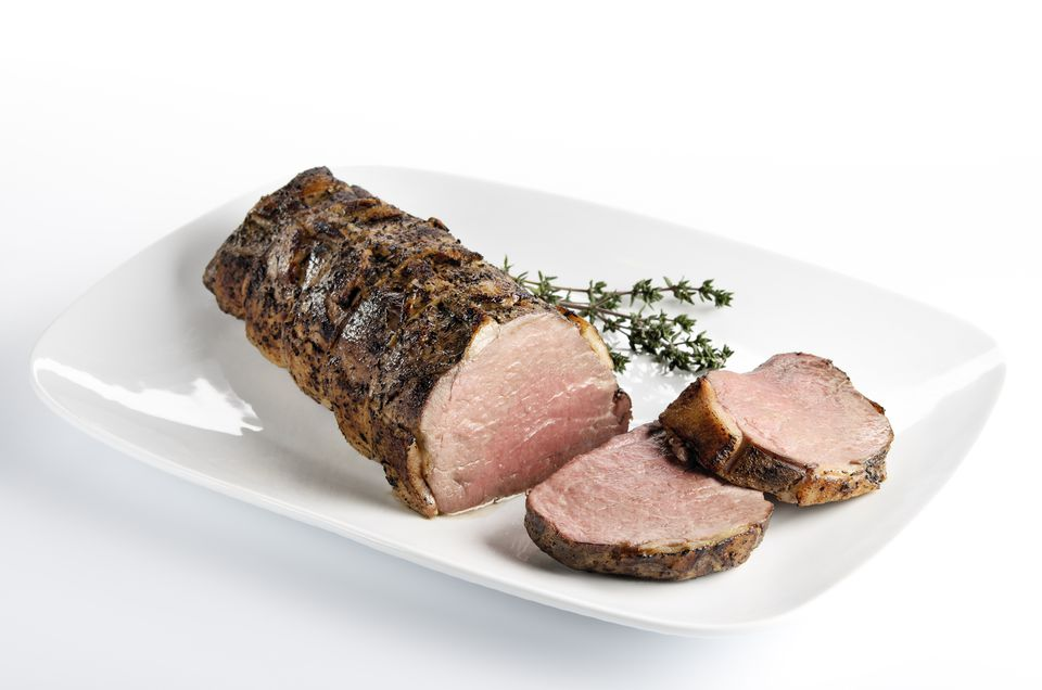 Roasted Herbed Pork Tenderloin