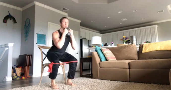 Home Workout With Chad - #56