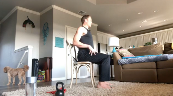 Home Workout With Chad - #23