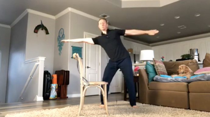 Home Workout With Chad - #2
