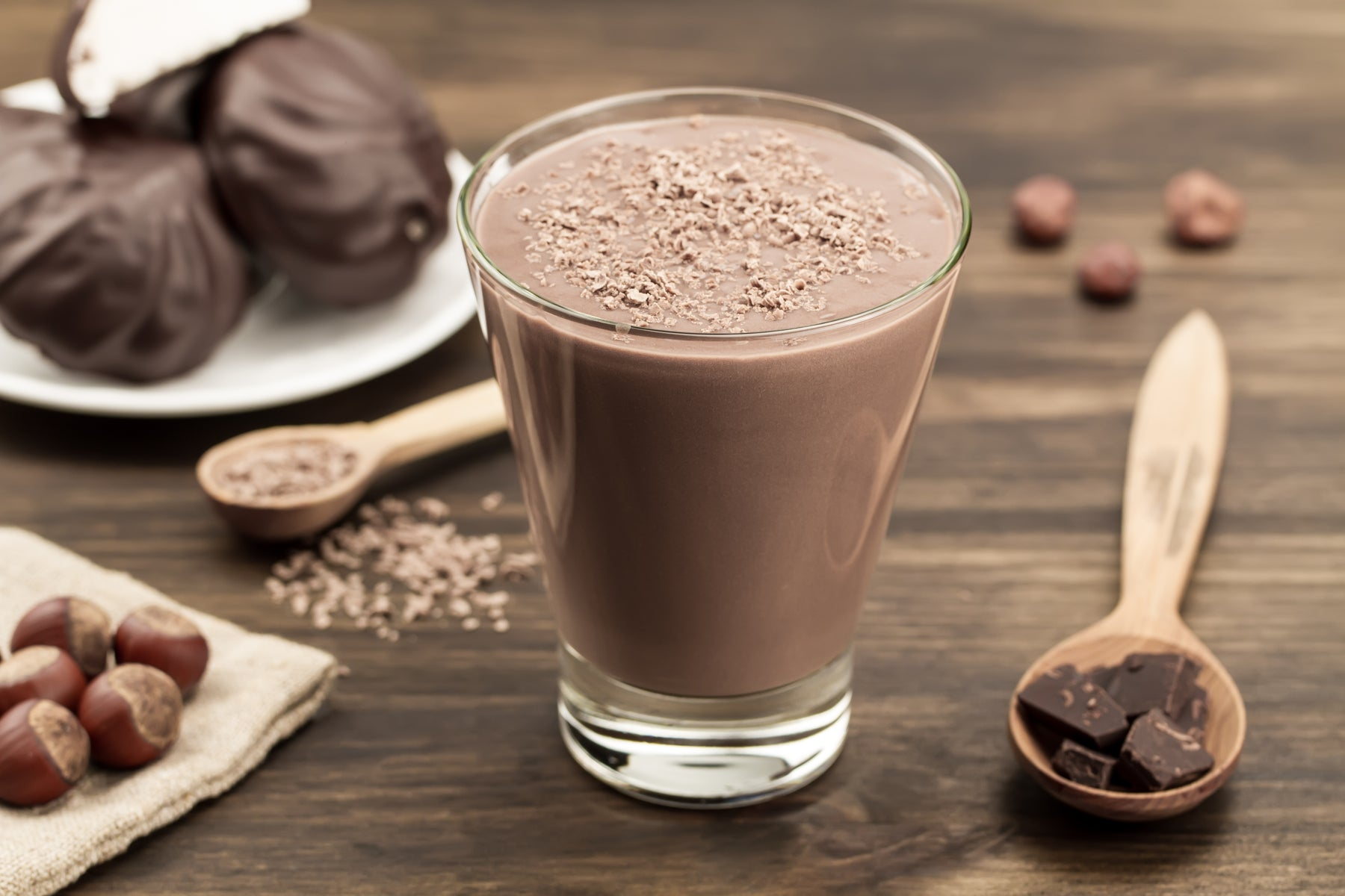 Cacao and Coffee Lovers Collagen Smoothie