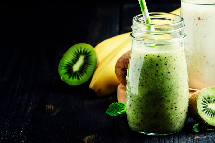 Green Kiwi Collagen Smoothie