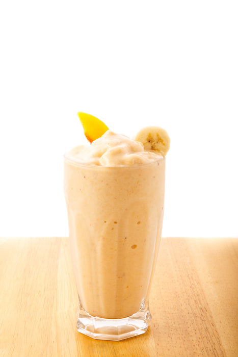 Banana Almond Peach Collagen Smoothie