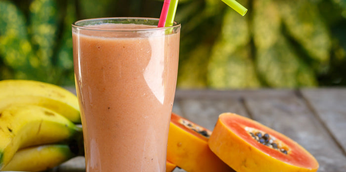 Tropical Sunset Collagen Smoothie