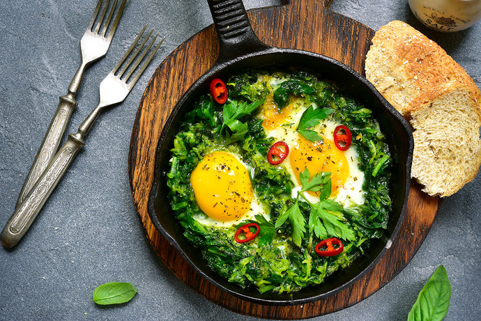 Birds Nest Breakfast Skillet